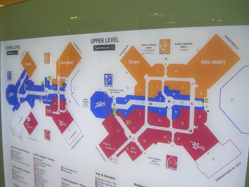 Square One Map Square One Shopping Centre   Mississauga   LocalWiki Square One Map