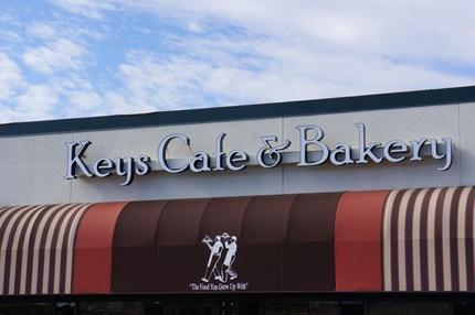 Keys Restaurant Menu