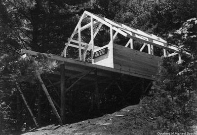 The Mess Tent high of the ground & Tent Platform Permit No. 733 - Historic Saranac Lake - LocalWiki