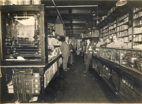 Walton And Tousley Interior, Undated. Courtesy Of Sue Walsh Walling.