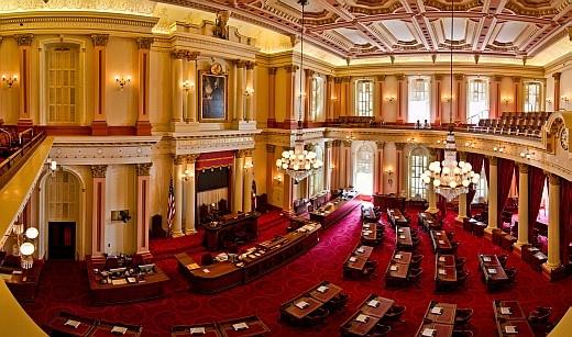California state capitol museum sacramento localwiki the california state senate chambers state capitol building sciox Gallery