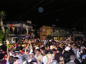 Image result for parties isla vista night