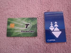 Senior clipper card
