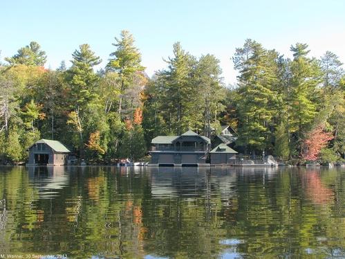 Deer Island Upper Saranac Lake
