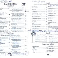 Ranch Kitchen Woodland Ca Menu