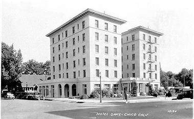 Hotel Oaks Ca 1920 Mlsc