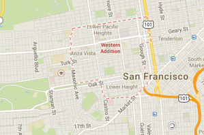 Pacific Heights San Francisco Map.Western Addition San Francisco Localwiki