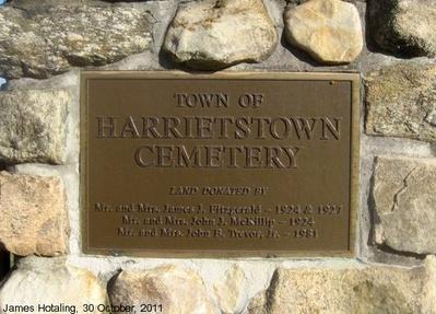 Harrietstown Cemetery Historic Saranac Lake Localwiki
