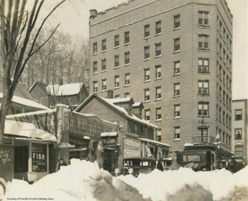 Alpine Hotel 1930s