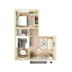 Bedroom Apartments Davis