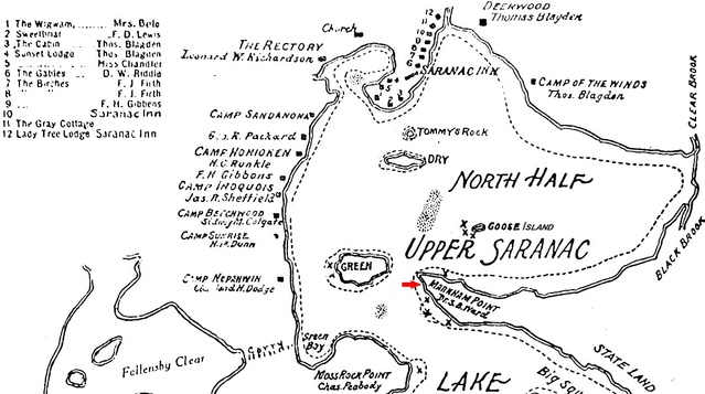 Markham Point - Historic Saranac Lake - LocalWiki