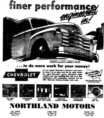 Northland Motors Historic Saranac Lake Localwiki