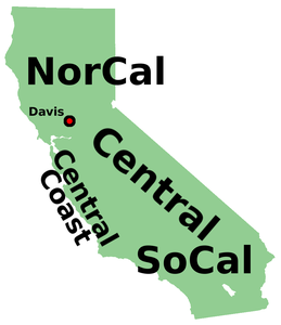 a21ecd633 This large and populous state is usually divided up into Northern California  (aka NorCal)