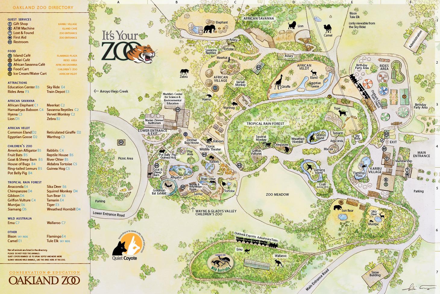 Oakland Zoo - Oakland - LocalWiki