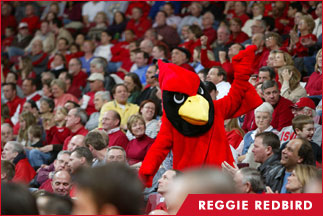 Mens basketball bloomington normal localwiki reggie redbird the mascot that illinois state publicscrutiny Image collections