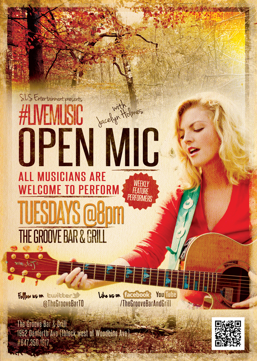Information About Quot Tuesday Night Open Mic Poster Weekly