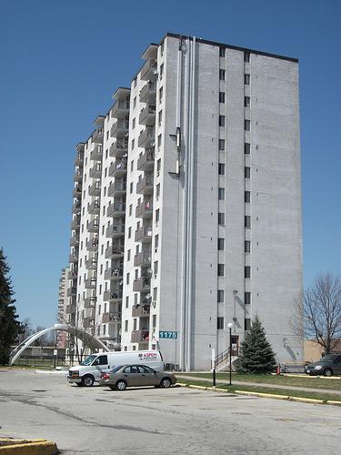 Dundas Ontario Apartment Building Native Mural