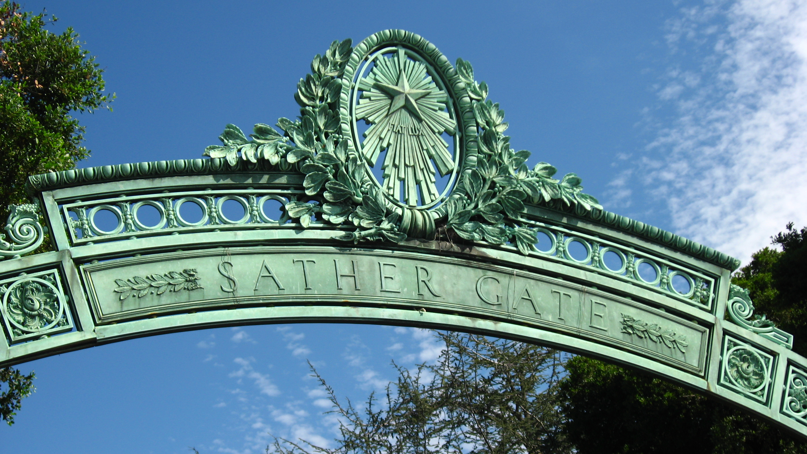 Information About Quot Sather Gate Jpg Quot On University Of